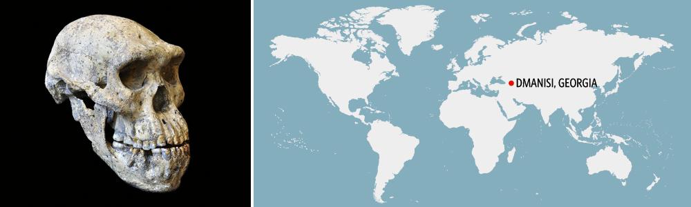 Dmanisi Georgia Map.Stile